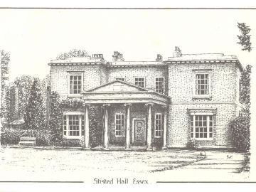 Stisted-Hall-Drawing-by-PTF