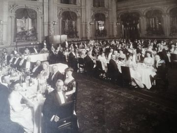 dinner-at-Stisted-Hall-C1911